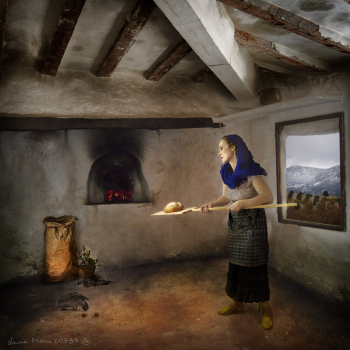 Baking Her Bread