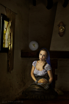The Woman with a Bread